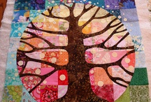 Quilt: up a tree!