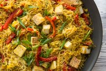 Asian, stir fries and noodles