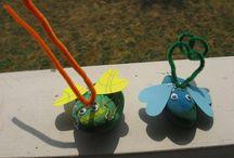 nápady pro děti - hmyz (brouci, mravenci atd.)