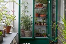 garden + balcony