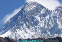 Come & enjoy the Himalayas with us............ / This area includes the highest mountain in the world, Everest at 8,848m., and many of the world's 8,000m peaks such as Lhotse, Cho Oyu, and Makalu. First climbed in 1953, Everest still holds a fascination for many; however the Everest region boasts many more spectacular and beautiful mountains, as well as some of the most rewarding trekking anywhere in the world Cost : USD1500 per person
