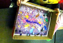 Process oriented art projects @ Lisle Library / The Youth Services Department at Lisle Library District (in Lisle, IL) focuses on process oriented art in our programs.  It's about the process, not the product!  Great art projects for toddlers and preschoolers. / by Lisle Library