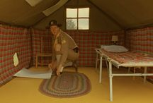 camp ivanhoe room / inspired by moonrise kingdom : : for two boys to share / by Kristin // skirt as top