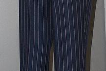 Мужские брюки. Технология.