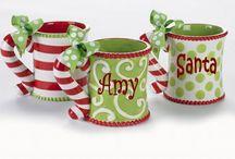 xmas pottery