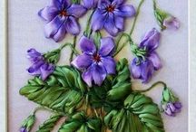 Szalag virágok