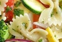 Receitas de saladas e molhos