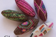 Gyöngyékszerek-horgolt bogyók
