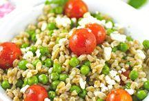 Spring Vegetable Dishes, Salads & More