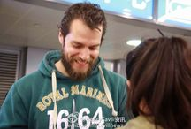 Henry Cavill in Shanghai,China April 2015 / Henry Cavill has arrived to Shanghai and was greeted by fans !