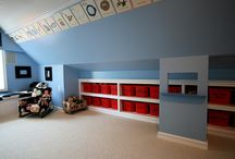 built-ins playroom / by Janet Germiller