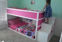Bedroom for chickens / Bedroom & bed ideas for little girls