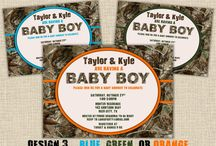 Camo Baby Shower / by Tammy Brown