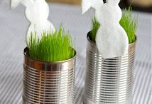 Ostern Hase in Dose