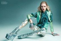 Alien Chic. / Galaxy Goddess,  futuristic femme,  space babes