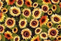 Sunflower quilt ideas