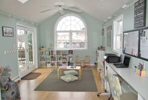 Home Offices and Craft Rooms / Fun and functional work spaces