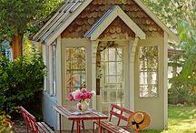 cabins/gazebos
