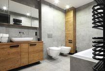 Szara łazienka/Greyu bathroom