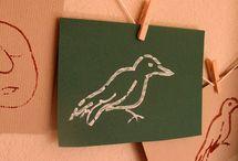 Printmaking Art Activities for Kids