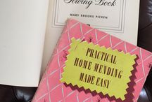 Sewing Manuals / Old Sewing Manuals contain a treasure trove of information