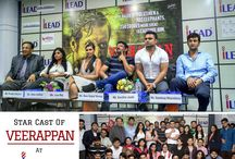 Cast Of Veerappan At iLEAD / The cast of Veerappan had made a visit to iLEAD along with the director Ram Gopal Varma to promote the film.  #BestBSchool #BBACollege