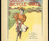"""Bicycle Posters Illustrations Art  / Bicycle Posters, some are vintage while others are recent and originate from """"The Tweed Ride Report""""  a listing of over 200 Tweed Runs & Tweed Rides happening worldwide. Also included are new poster art works, plus vintage paper ephemera -- newspaper and such, as long as a bicycle is depicted!"""