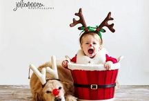 Christmas themed shoot
