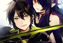 Owari no Seraph / Seraph of the End Stuff / Welcome to my Owari no Seraph/Seraph of the end board ! I'm currently reading owari no seraph and buying when it comes in the bookstores here where I live. Im loving it so far and also curious to read the story before that (Seraph of the End: Guren Ichinose: Catastrophe at Sixteen) and to watch the anime too. My fav chars are Guren Ichinose, Shinoa Hiiragi and Krul Tepes.  Enjoy!