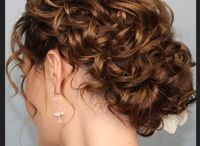 Bridal Inspiration FOR CURLY HAIR / Curly hair style inspiration for brides, bridesmaids and mothers.
