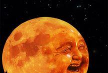Луна, искусство