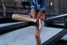 Beach/Skate Shoot / Roxy/Urban Outfitters/Scotch & Soda Look / by Joanne Garcia