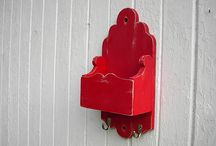 Shabby chic home decor key hook candle boxes / Shabby chic candle boxes, cubby holes,and letter organizers, for all sorts of things. To hang on the wall. / by Twigs2 Whirligigs