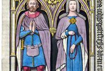 Medieval cloak 14th