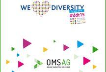OMSAG-Statements zum Deutschen Diversity-Tag 2015 / Am 09. Juni findet auf Initiative der Charta der Vielfalt der 3. Deutsche Diversity-Tag statt. Als Unterzeichner der Charta beteiligen wir uns mit einer eigenen Aktion. Was wir vorhaben? Wir posten in den kommenden Wochen bis zum 09. Juni Zitate unserer Mitarbeiter. Darin beantworten sie, was Vielfalt und Toleranz für sie persönliche bedeuten. Denn darum dreht sich alles am #ddt15. Ihr könnt unsere Aktion auch auf Facebook und Google+ verfolgen ->> fb.omsag.de und plus.google.com/+OmsagDe