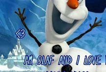 I`m Olaf and I love warm hugs
