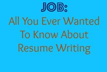Job hunts and promotions tips / by Kristen Gould