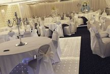 Silver Themes / Beautiful Silver themed rooms and centrepieces