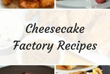 Cheese cake factory recipes