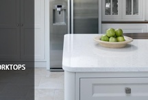 Home: Countertops & Backsplashes / by Kirst