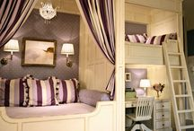 Girls bedroom ideas / by Karen Caza