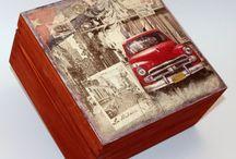 Vintage dobozok