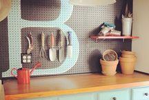 garage organising!!
