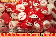 My Melody Handmade Candy by LollyTalk; Premium Edition / Handcrafted candy of Sanrio Licensed Characters, by LollyTalk.