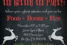 Party Invitations / by Amanda Warner