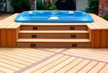 Hot Tub deck / by Marie-Claire MacCrory