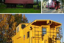 Converted Railway Cars