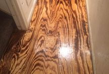 Plywood / Plywood flooring, wall cladding and other plywood uses.