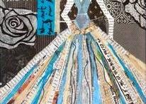 PAPER/textiles Collague