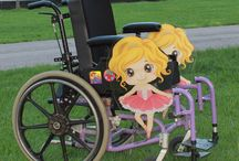Girls Rolling Buddies / Add some girl designs on your mobile device